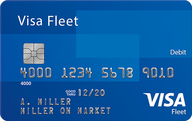 Visa Fleet Debit Card